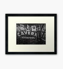 The Cavern Club, Liverpool Framed Print