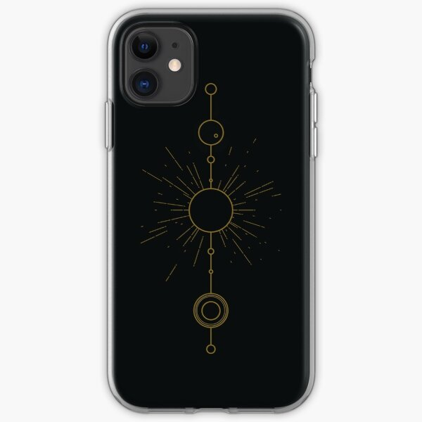 Sol System - Bronze iPhone Soft Case