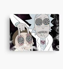 Rick & Morty Canvas Print