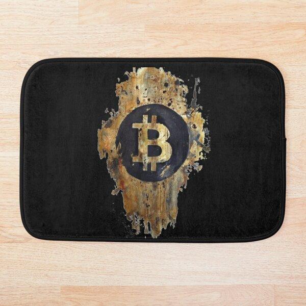 Sello Bitcoin Alfombra de baño