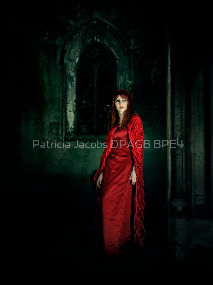 Lady in Red by Patricia Jacobs DPAGB BPE4