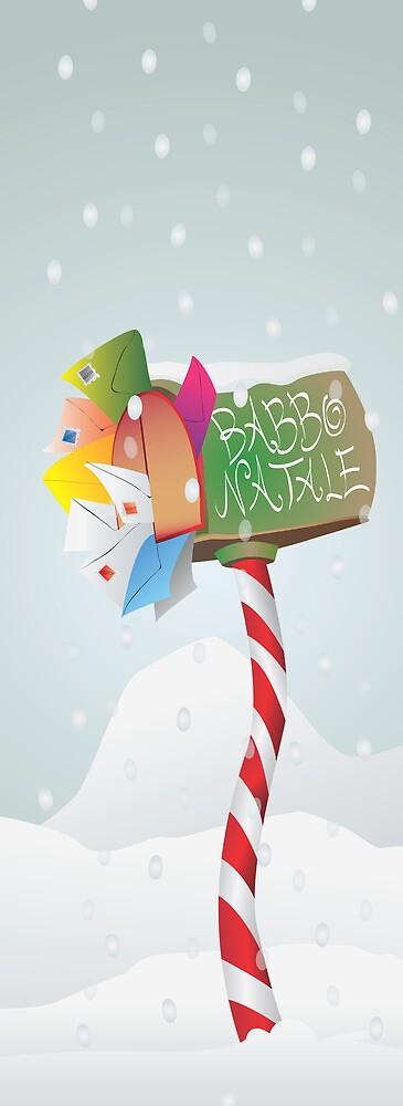 cassetta lettere babbo natale (letter box santa claus) by gbr1