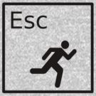 Hit the Escape Key! by Evan Newman
