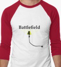 Battle field 4 ( YEA IT'S HERE) light up your day Men's Baseball ¾ T-Shirt