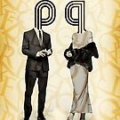 Mr p and Mrs q by Vin  Zzep