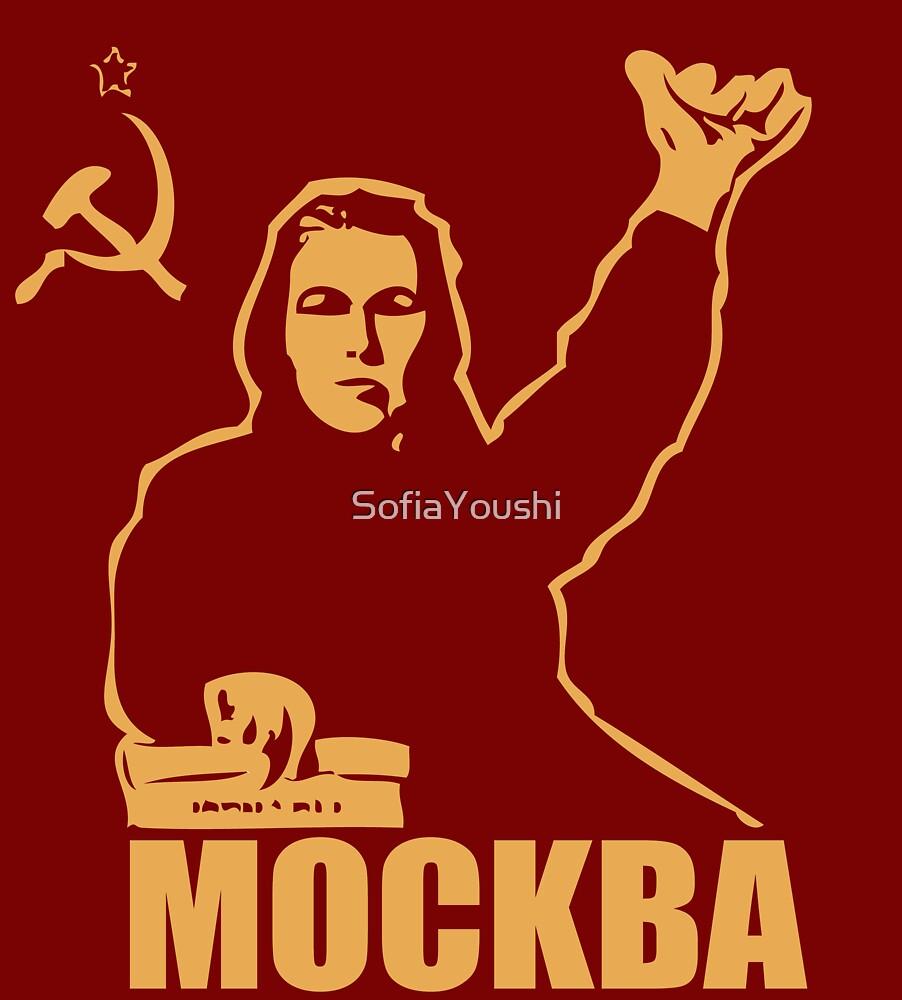 MOSCOW MOCKBA  by SofiaYoushi