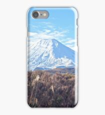 Mount Ngauruhoe iPhone Case/Skin
