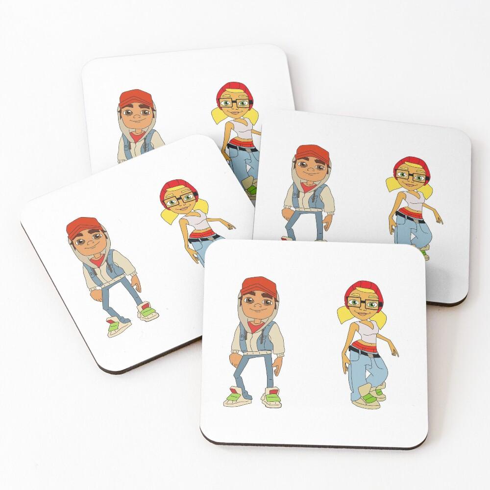 Subway Surfers Coasters (Set of 4)