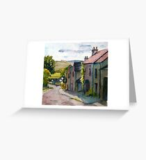 Down The Street Greeting Card