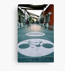 Mobility urban alley Canvas Print