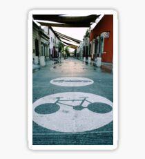 Mobility urban alley Sticker