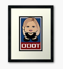 Coolter Politico'bot Toy Robot 2.0 Framed Print