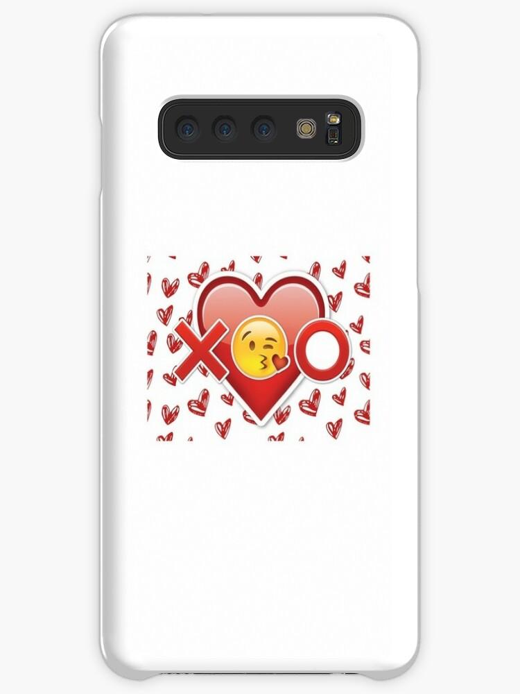 'Emoji Hugs & Kisses' Case/Skin for Samsung Galaxy by popular