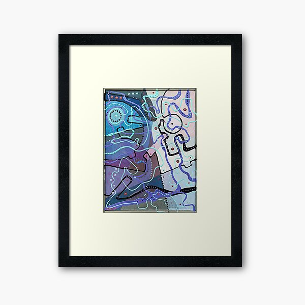 Fragments of My Imagination Framed Art Print