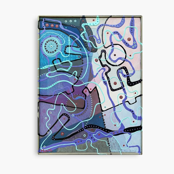 Fragments of My Imagination Canvas Print