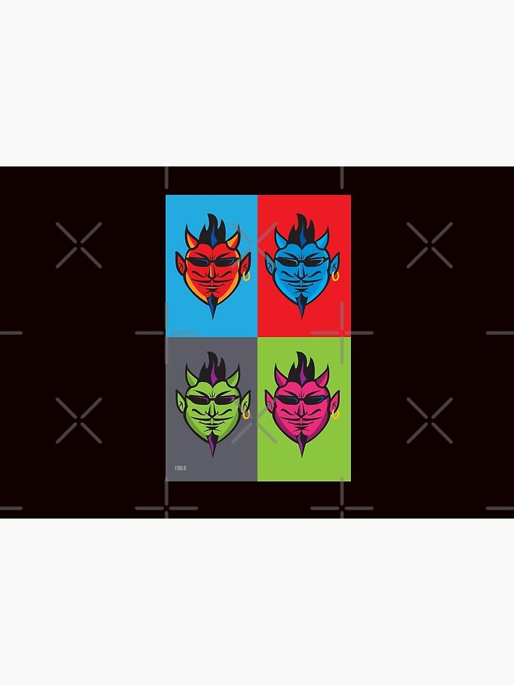 Pop Art Devils  by magichammer