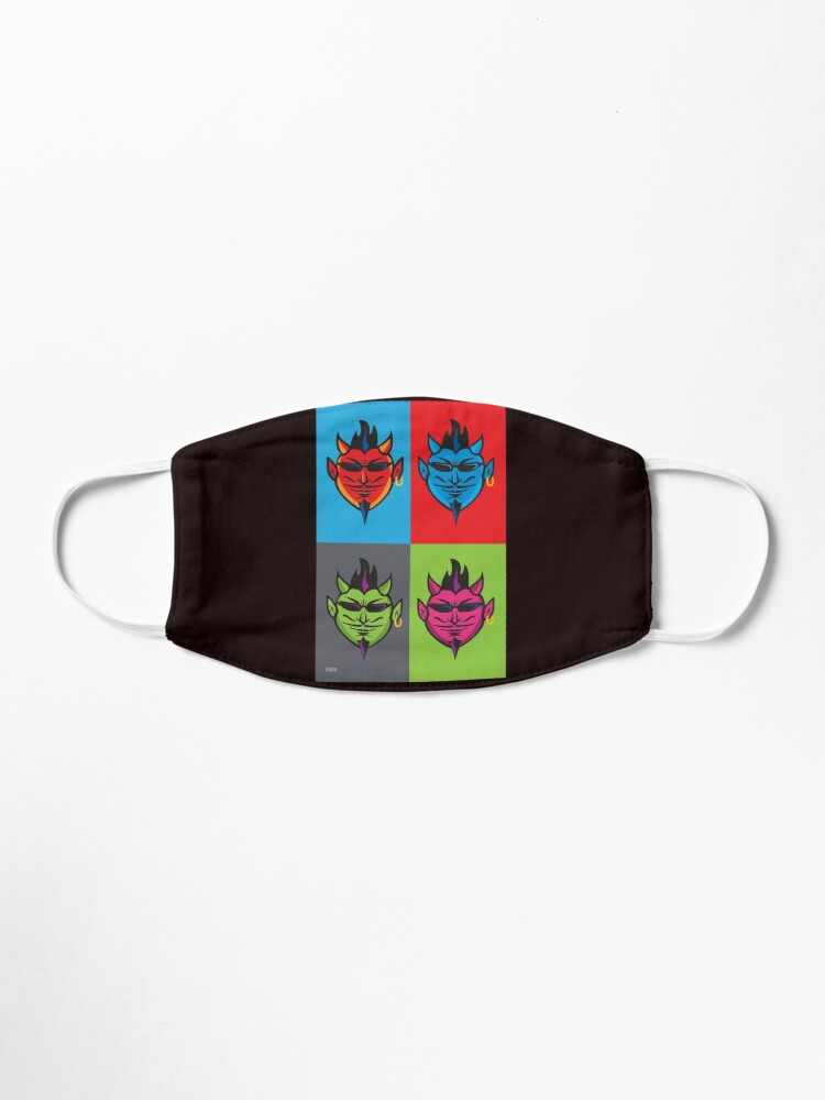 Alternate view of Pop Art Devils  Mask