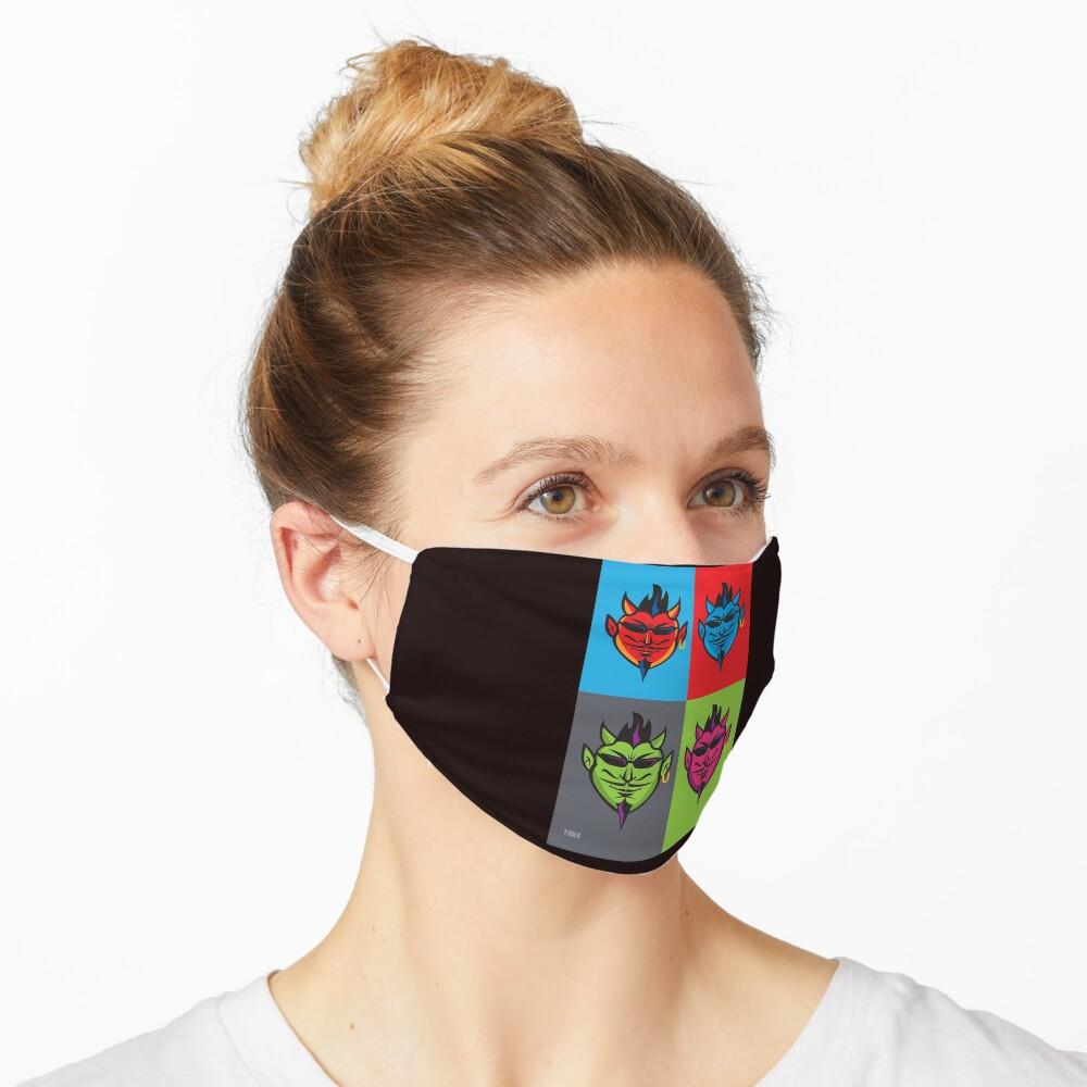 Pop Art Devils  Mask