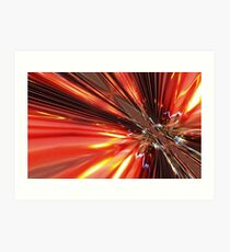 Synaptic Firing - The Genesis of a Thought Art Print