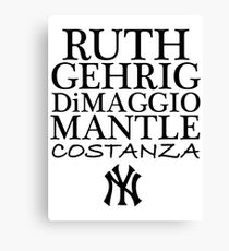 Costanza - Yankees Canvas Print