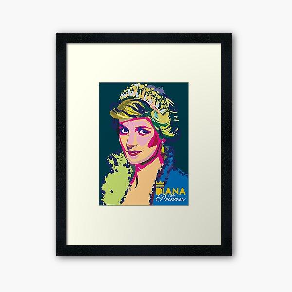 Diana The Princess Framed Art Print