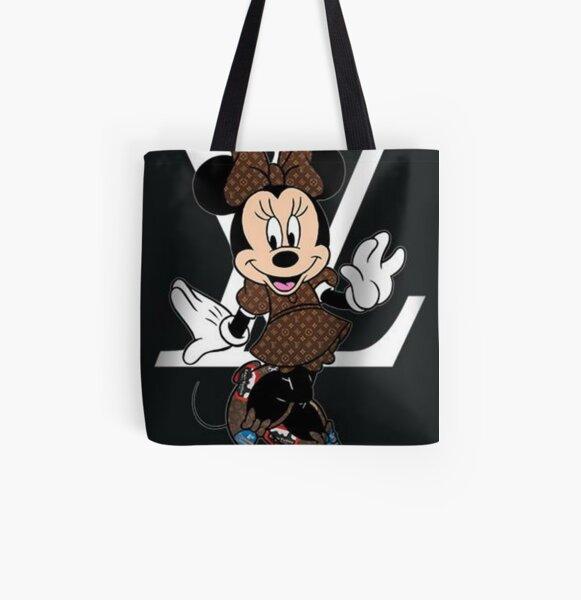 Disney/'s Vintage Mickey Minnie Fantasyland Tote Beach Trick or Treat Bag