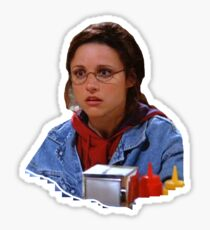 Elaine - I've Become George Sticker
