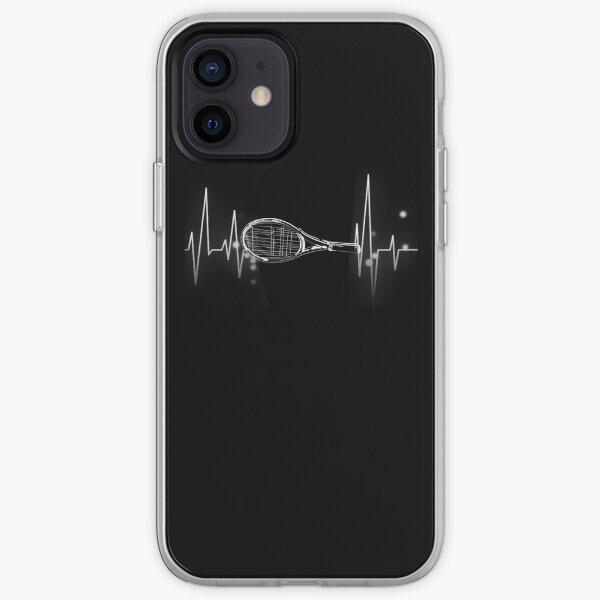 Latido de tenis Funda blanda para iPhone