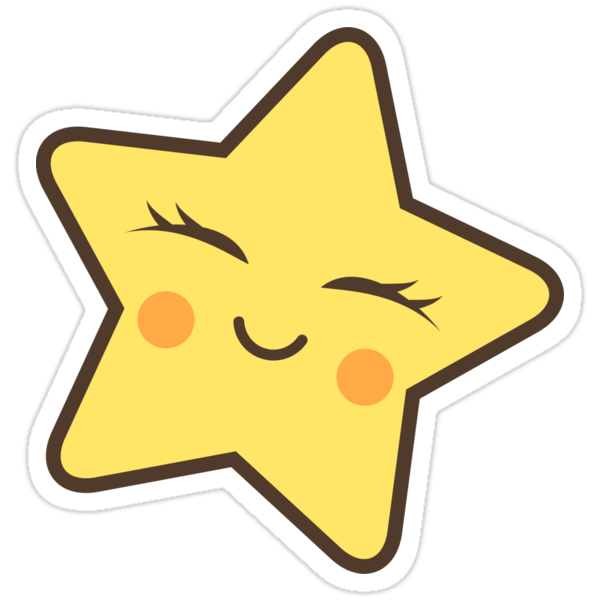 """""""Kawaii star"""" Stickers by MheaDesign 