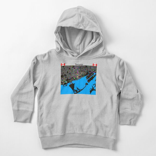 The Colours of Toronto Toddler Pullover Hoodie