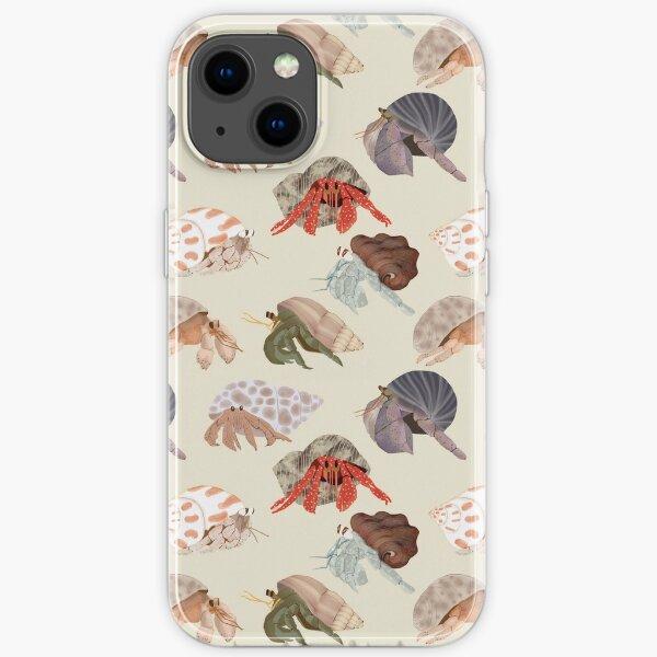 Hermit Crabs Pattern iPhone Soft Case