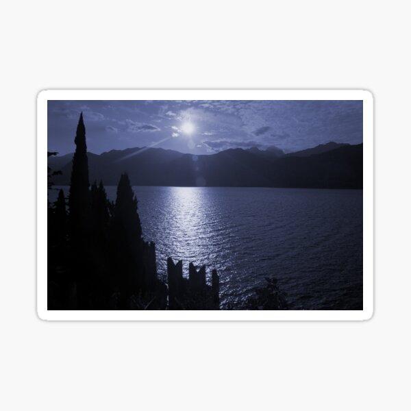 Lago di Garda, in blue Sticker