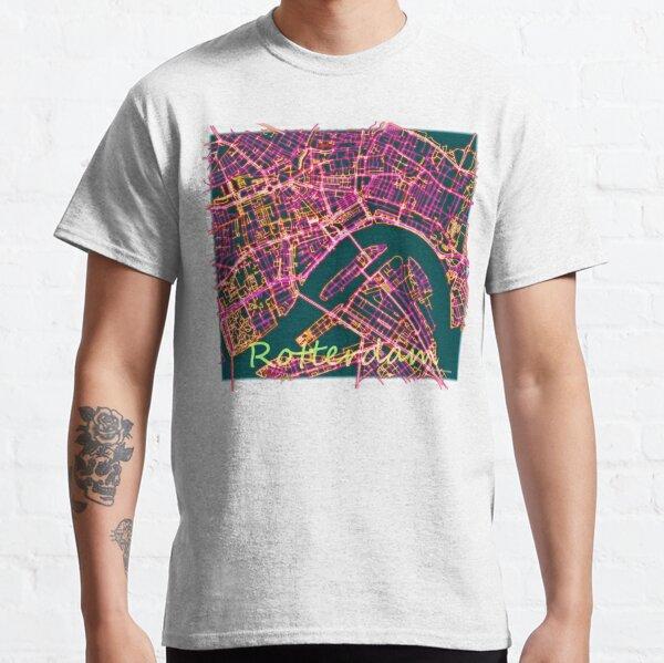 Neon Roads of Rotterdam Classic T-Shirt