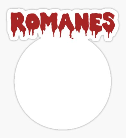 ROMANES Sticker