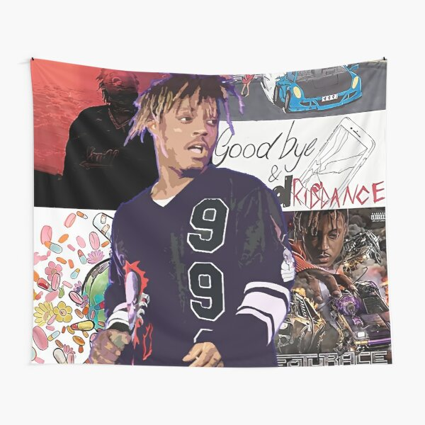 untitled four cover poster Tapestry