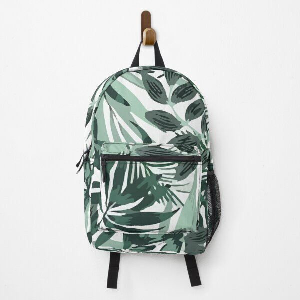Fashionable Tropical Pattern Backpack