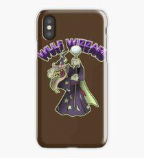 Wulf Wizzard Bad Wizzard iPhone Case