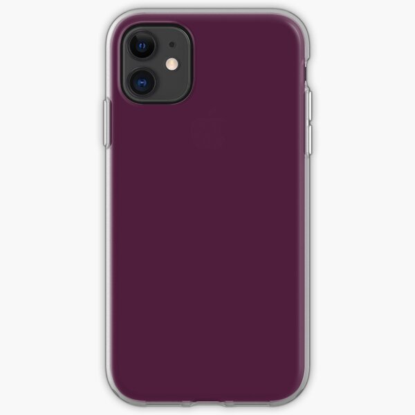 plum red  pink  pastel neon cover background iPhone Soft Case