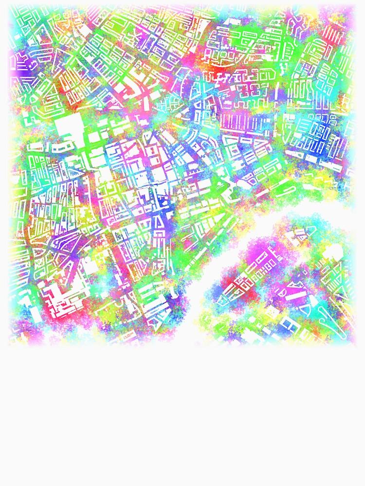Rotterdam Toothbrush Spray Map by jvdkwast