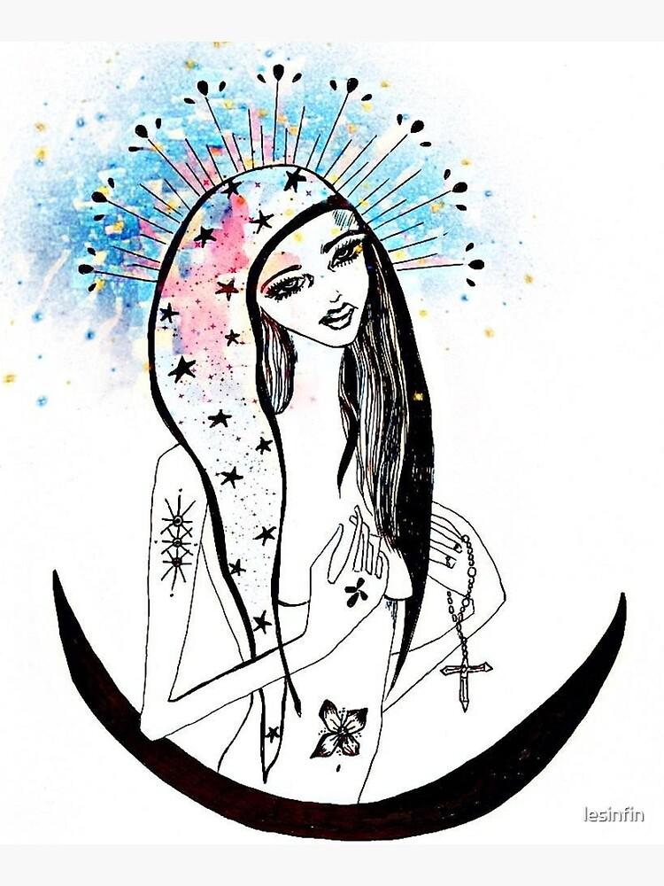 La Virgen de Guadalupe by lesinfin