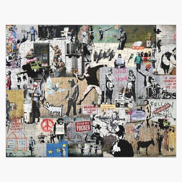 Banksy Collage Puzzle