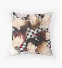 Bangtan Boys Throw Pillow