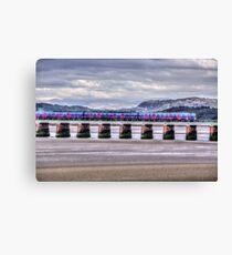Arnside Viaduct Canvas Print