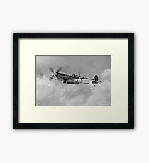 WC Johnnie Johnson Spitfire Framed Print