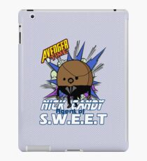 Avenger Time - Nick Candy Agent of S.W.E.E.T iPad Case/Skin