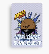Avenger Time - Nick Candy Agent of S.W.E.E.T Canvas Print
