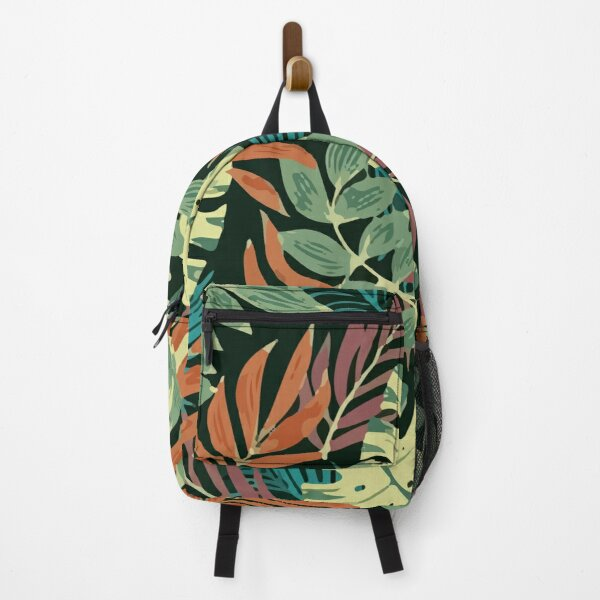 Original Tropical Pattern Backpack