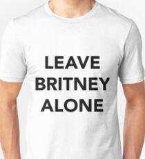 LEAVE BRITNEY ALONE (BLACK) T-Shirt