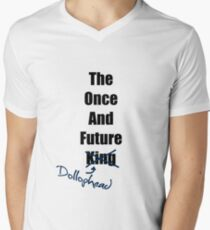 The Once and Future Dollophead Men's V-Neck T-Shirt