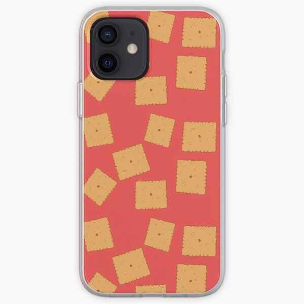 Cheez IT inspired artwork  iPhone Soft Case